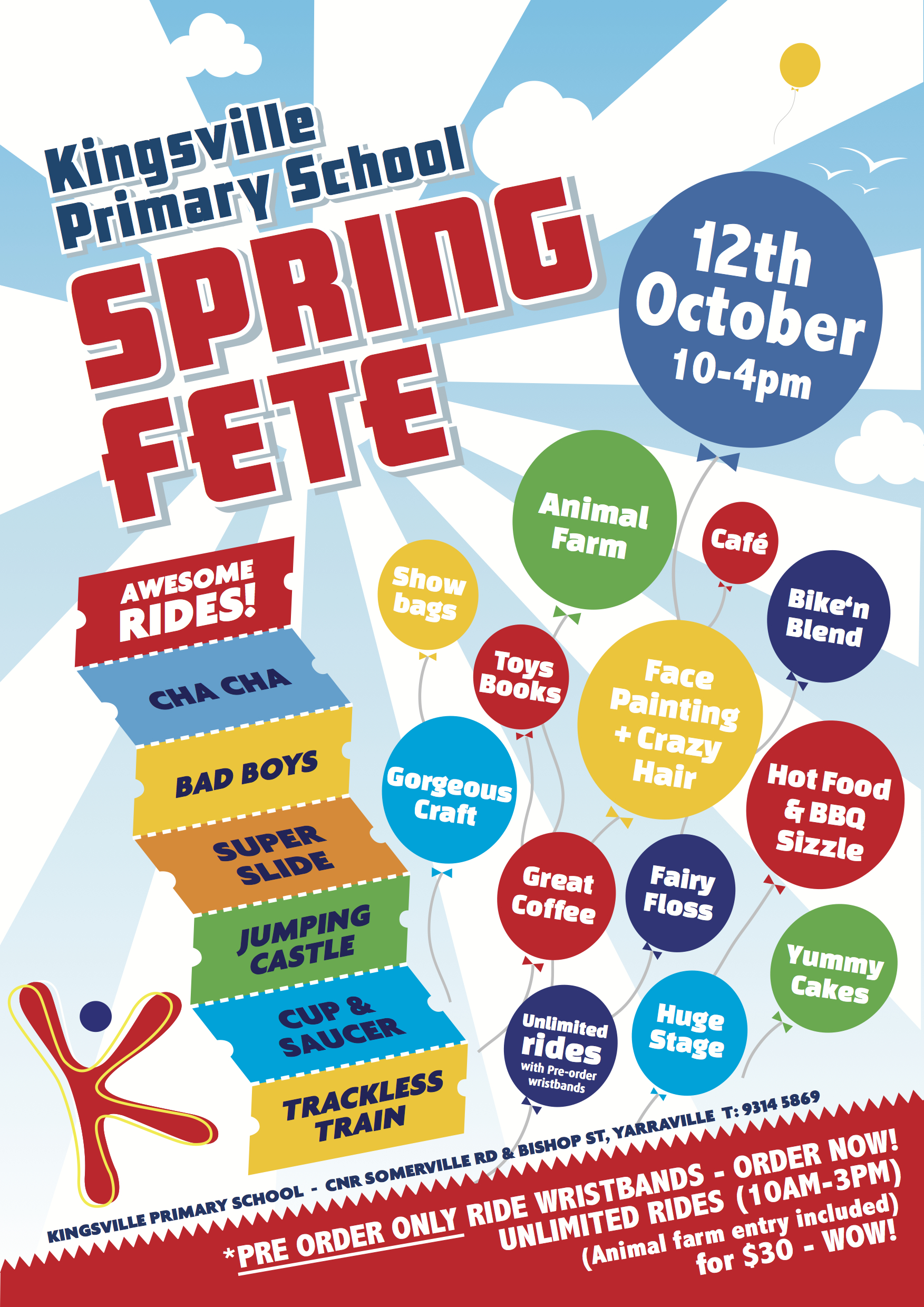 Design A Poster For Your School Fete